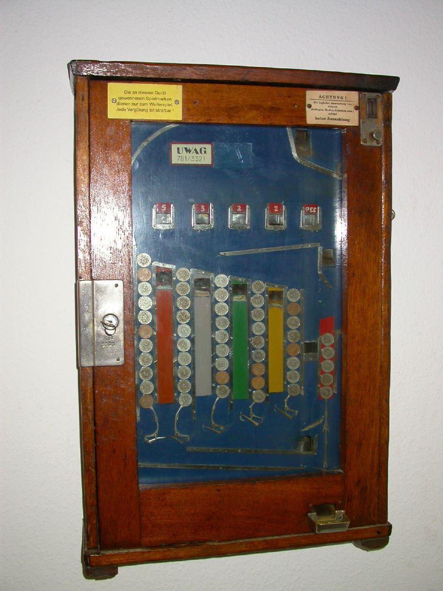 alte geldspielautomaten